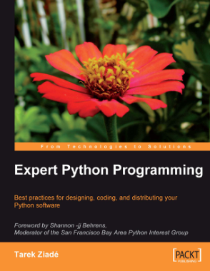 Free Download PDF Books, Expert Python Programming Best practices for Python software