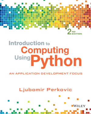 Free Download PDF Books, Introduction to Computing Using Python An Application Development Focus