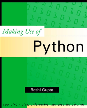 Free Download PDF Books, Making Use of Python
