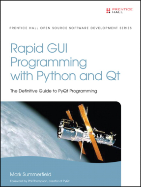 Free Download PDF Books, Rapid GUI Programming with Python and Qt Definitive Guide to PyQt