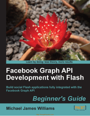 Free Download PDF Books, Facebook Graph API Development with Flash