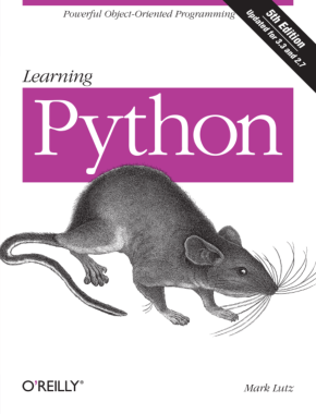 Free Download PDF Books, Learning Python 5th Edition
