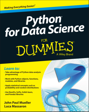Free Download PDF Books, Python for Data Science For Dummies