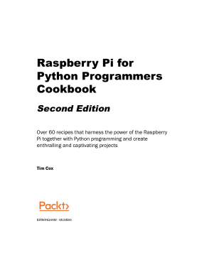 Free Download PDF Books, Raspberry Pi for Python Programmers Cookbook