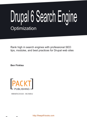 Drupal 6 Search Engine Optimization, Pdf Free Download
