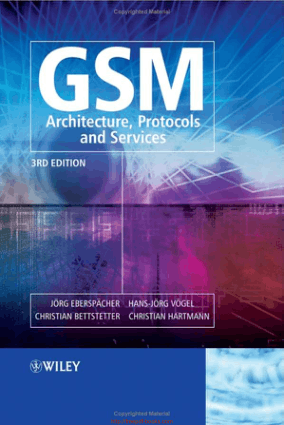 GSM Architecture, Protocols and Services 3rd Edition – Networking Book