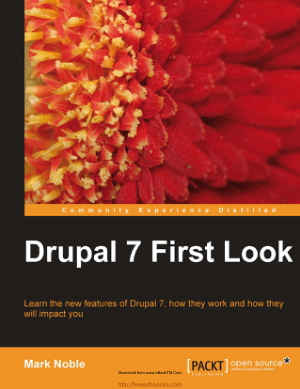 Drupal 7 First Look, Pdf Free Download