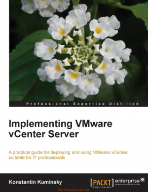 Implementing VMware vCenter Server – Networking Book
