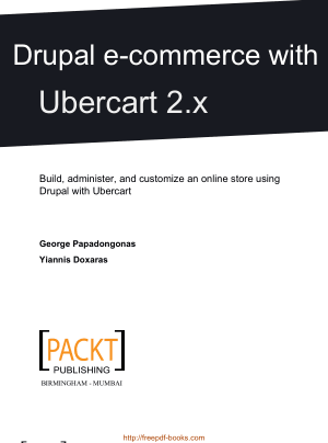 Free Download PDF Books, Drupal E-Commerce With Ubercart 2x
