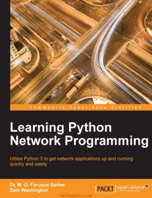 Free Download PDF Books, Learning Python Network Programming