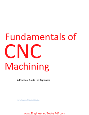 Free PDF Books, Fundamentals of CNC Machining