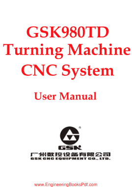 Free PDF Books, GSK980TD Turning Machine CNC System User Manual
