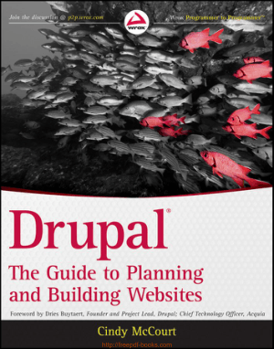 Free Download PDF Books, Drupal Guide To Planning And Building Websites