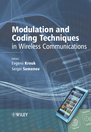 Free Download PDF Books, Modulation and Coding Techniques in Wireless Communications – Networking Book