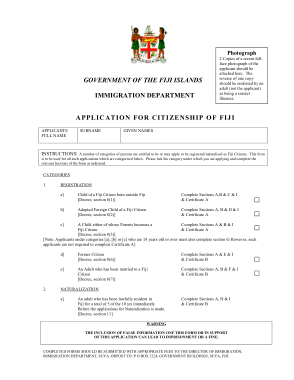 Free Download PDF Books, Citizenship Application Form Sample Template