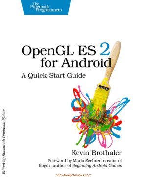 Free Download PDF Books, OpenGL ES 2 for Android, A Quick Start Guide