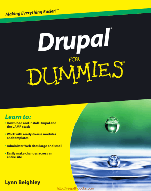 Free Download PDF Books, Drupal For Dummies