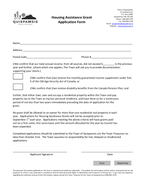 Free Download PDF Books, Housing Assistance Grant Application Form Template
