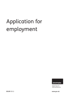 Free Download PDF Books, Sample Job Application Form Template