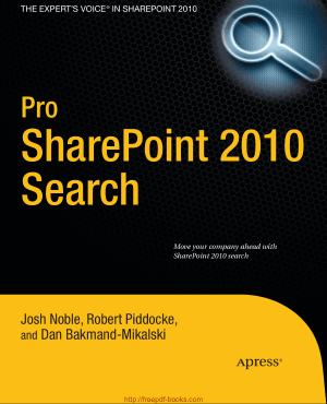 Free Download PDF Books, Pro SharePoint 2010 Search
