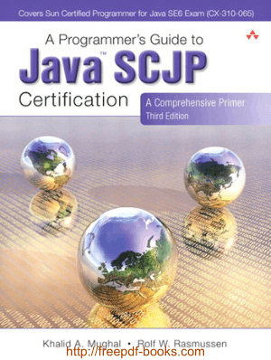 Free Download PDF Books, Programmers Guide to Java SCJP Certification 3rd Edition