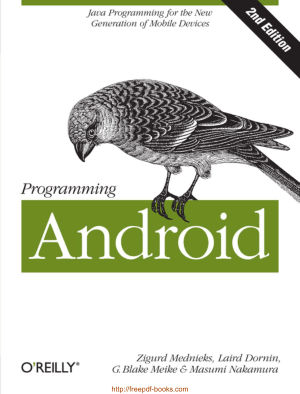 Programming Android 2nd Edition
