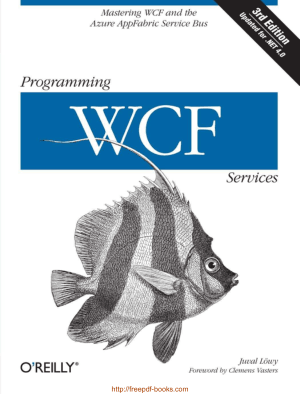 Free Download PDF Books, Programming WCF Services, 3rd Edition