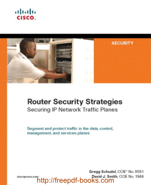 Router Security Strategies Securing IP Network Traffic Planes – Networking Book