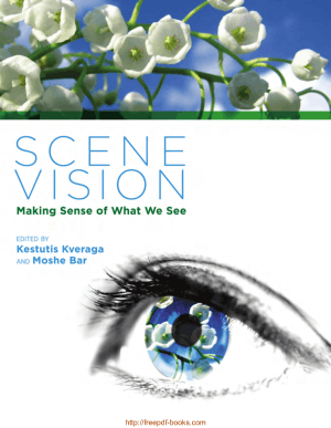 Free Download PDF Books, Scene Vision- Making Sense of What We See