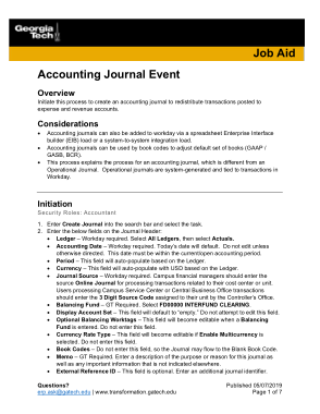 Free Download PDF Books, Accounting Journal Event Sample Template