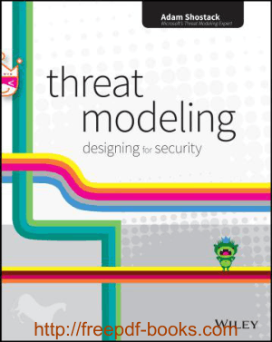 Free Download PDF Books, Threat Modeling Designing for Security