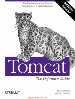 Tomcat The Definitive Guide, 2nd Edition