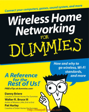 Free Download PDF Books, Wireless Home Networking For Dummies