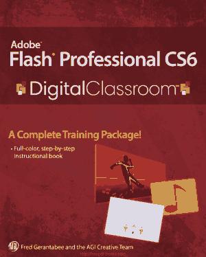 Free Download PDF Books, Adobe Flash Professional CS6 Digital Classroom