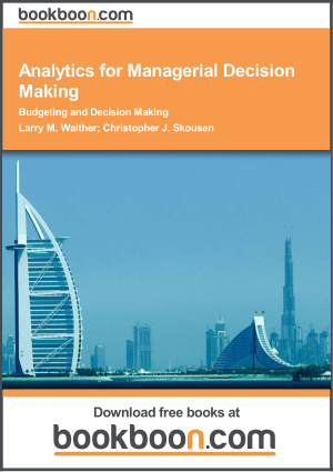 Analytics For Managerial Decision Making Book