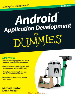 Android Application Development For Dummies 2nd Edition, Android Tutorial