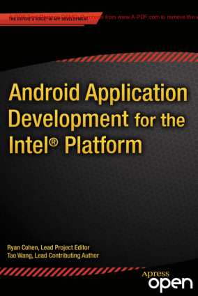 Android Application Development for the Intel Platform, Android Tutorial