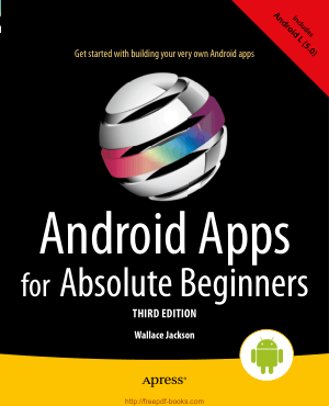 Free Download PDF Books, Android Apps for Absolute Beginners 3rd Edition