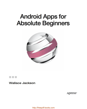 Android Apps for Absolute Beginners, Android App Development Books