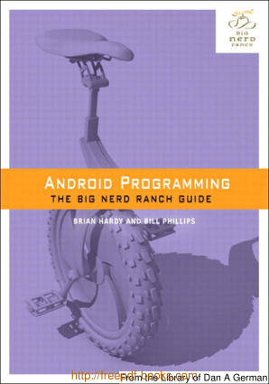 Android Programming – The Big Nerd Ranch Guide