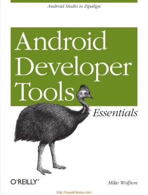 Android Developer Tools Essentials