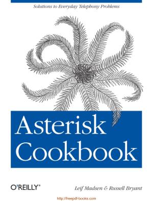 Asterisk Cookbook, Pdf Free Download