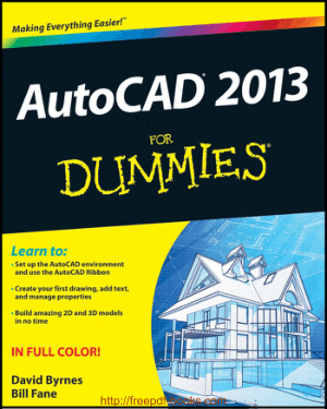 Free Download PDF Books, AutoCAD 2013 For Dummies, Pdf Free Download