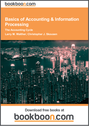 Basics Of Accounting Information Processing Book