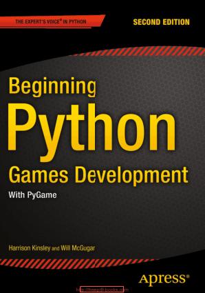 Free Download PDF Books, Beginning Python Games Development 2nd Edition Ebook