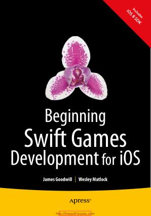 Free Download PDF Books, Beginning Swift Games Development For iOS