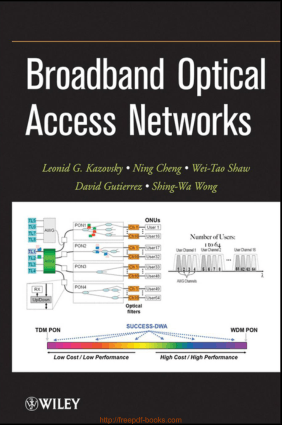 Broadband Optical Access Networks – Networking Book