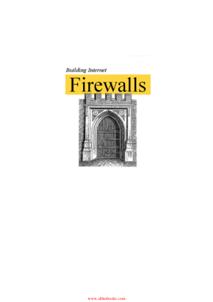 Building Internet Firewalls 2nd Edition Book