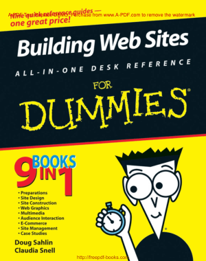 Building Web Sites All in One Desk Reference For Dummies, Pdf Free Download