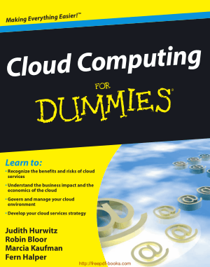Cloud Computing For Dummies Book